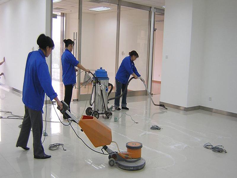 开荒保洁装修后的一般流程